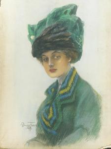 Vogue - January 1910 by Stuart Travis