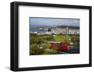 Wellington Cable Car, Wellington, North Island, New Zealand, Pacific by Stuart