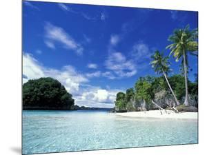 Bay of Honeymoon Island, World Heritage Site, Rock Islands, Palau by Stuart Westmoreland
