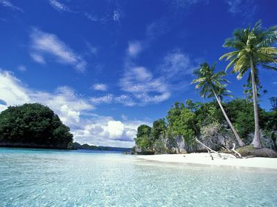 Bay of Honeymoon Island, World Heritage Site, Rock Islands, Palau
