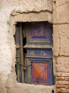 Cemented over Classic Doorway, Old City, Montevideo, Uruguay by Stuart Westmoreland