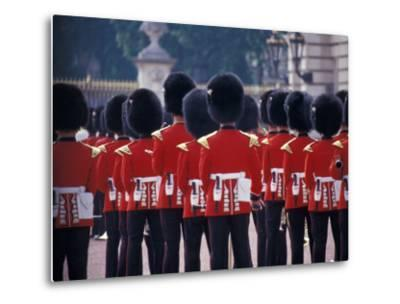 Changing of the Guards at Buckingham Palace, London, England