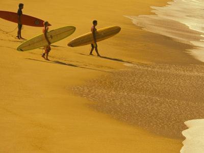 Cocoa Beach Surfer, Florida, USA