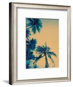 Palm Trees on Felidu Atoll, Maldives by Stuart Westmoreland