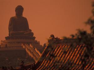 Po Lin Monastery and Buddha, Hong Kong by Stuart Westmoreland