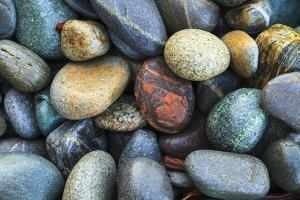 Beach rocks, Juan De Fuca Trail, near Jordan River, Vancouver Island, British Columbia, Canada by Stuart Westmorland
