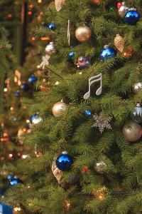 Christmas tree decorations by Stuart Westmorland