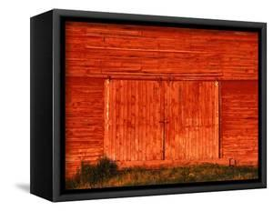 Detail of a Red Barn by Stuart Westmorland