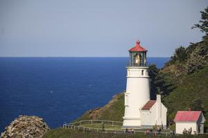 Heceta Head Lighthouse, constructed in 1894, Oregon Coast, Oregon, USA by Stuart Westmorland