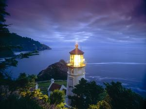 Heceta Head Lighthouse, Oregon Coast, Oregon, USA by Stuart Westmorland