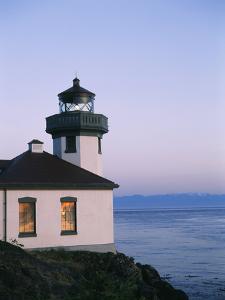 Lime Kiln Lighthouse, San Juan Island, Washington State, USA by Stuart Westmorland