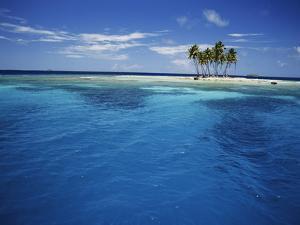 Micronesia, Tonowas, View of Idyllic Tropical Dublon Island by Stuart Westmorland