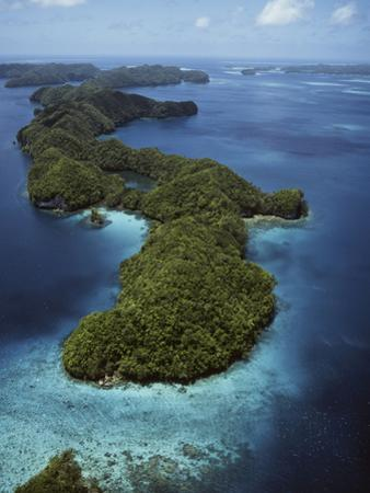 Palau, Micronesia, Aerial View of Rock Island by Stuart Westmorland