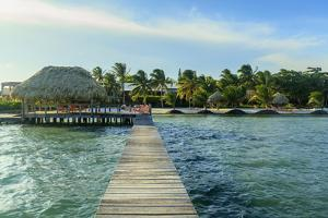 Saint Georges Caye Resort, Belize, Central America by Stuart Westmorland