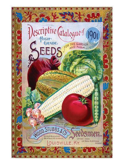 Stubbs Seeds Louisville--Art Print