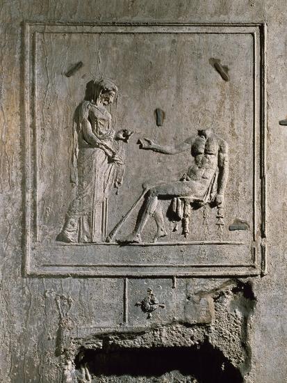 Stucco Relief from Basilica Di Porta Maggiore, Rome, Italy--Giclee Print