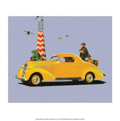Studebaker Dictator, Vintage Car Advertising--Art Print