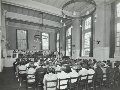 Students Attending a Conference, Furzedown Training College, London, 1935--Photographic Print