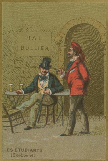 Students of the Sorbonne--Giclee Print