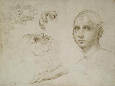 Studies for the Trinity of San Severo-Raphael-Giclee Print