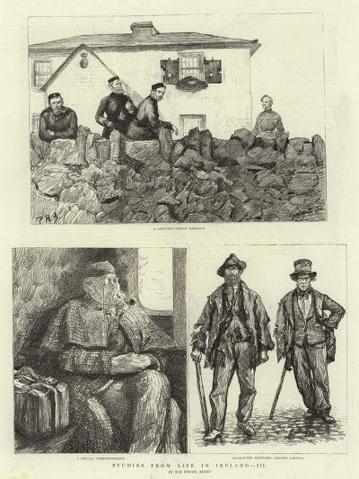 Studies from Life in Ireland, III--Giclee Print