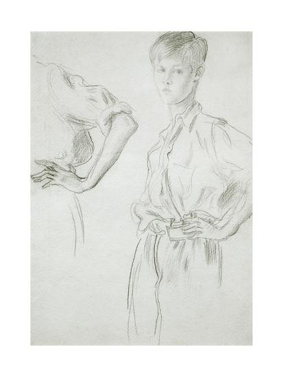 Studies of a Boy-Augustus Edwin John-Giclee Print