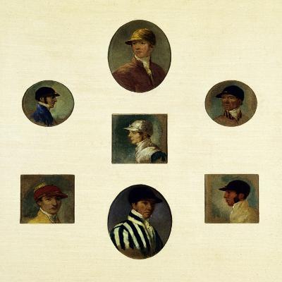 Studies of Jockeys, C.1830-Abraham Cooper-Giclee Print