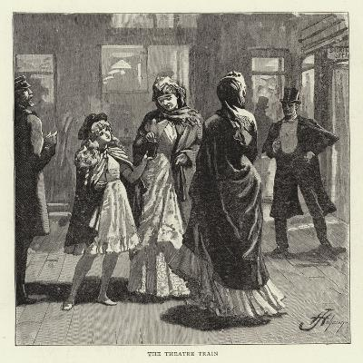 Studies of Life and Character at a Railway Station--Giclee Print
