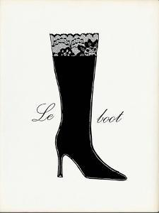 Little Black Tall Boot by Studio 5