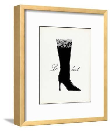 Little Black Tall Boot