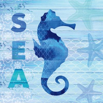 Sea Glass Seahorse by Studio Bella