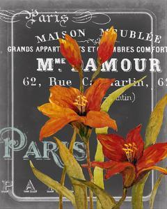 Chalkboard Paris I by Studio W