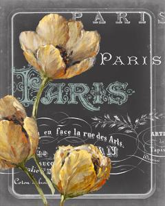 Chalkboard Paris II by Studio W