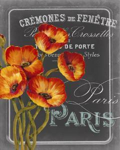 Chalkboard Paris III by Studio W