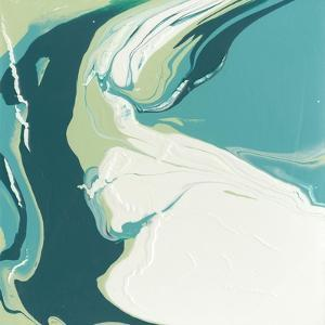 Flowing Teal I by Studio W