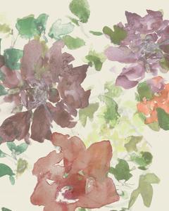 Fuchsia Inked Blooms II by Studio W