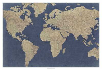 Linen Map I