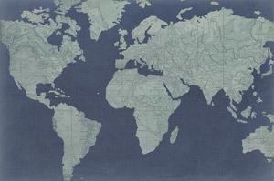 Linen Map II by Studio W
