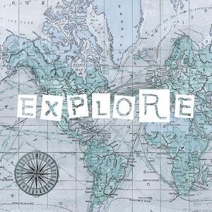 Map Words VI by Studio W