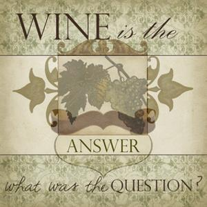 Wine Phrases IV by Studio W