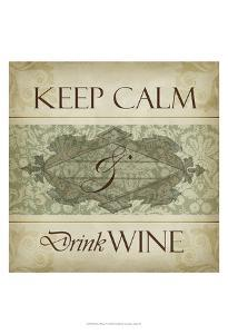 Wine Phrases V by Studio W