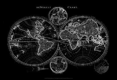 World Map Blueprint