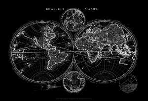 World Map Blueprint by Studio W