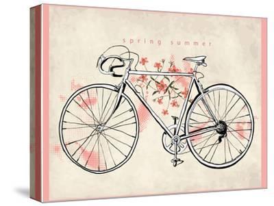 Flower Vintage Bicycle