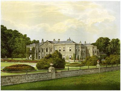Studley Royal, Yorkshire, Home of the Marquess of Ripon, C1880-AF Lydon-Giclee Print