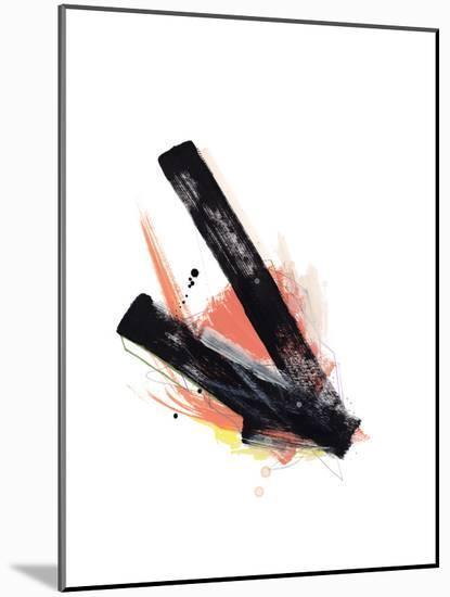Study 26-Jaime Derringer-Mounted Giclee Print