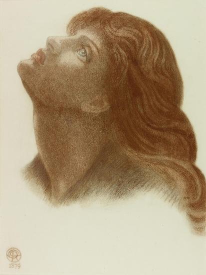 Study after 'Astarte Syriaca'-Dante Gabriel Charles Rossetti-Giclee Print