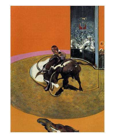 Study for a Bullfight no. 1, c.1969-Francis Bacon-Art Print