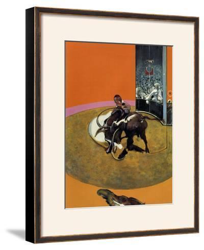 Study for a Bullfight no. 1, c.1969-Francis Bacon-Framed Art Print