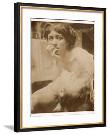 Study for a decorative panel, 1908-Alphonse Marie Mucha-Framed Photographic Print